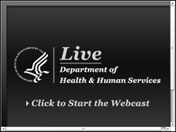 hhs webcast
